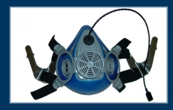 RMMICTBAY Respirator mask with mic with T Bayonnet att.