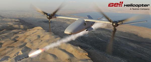 Bell Helicopter V-247 Vigilant Tiltrotor Drone